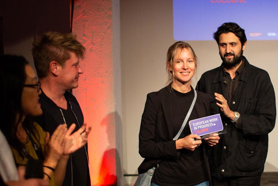 Gewinnerfilm 'End of Season': Eva Blondiau und Elmar Imanov (Color of May) © EWIP