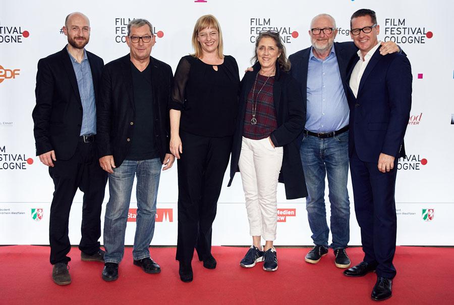 Johannes Hensen (FFCGN), Meinholf Zurhorst (Arte), Bettina Brokemper (Zentropa Köln / Heimatfilm), Petra Müller (FMS), Peter Aalbæk Jensen (Zentropa), Holger Fuchs (Concorde)