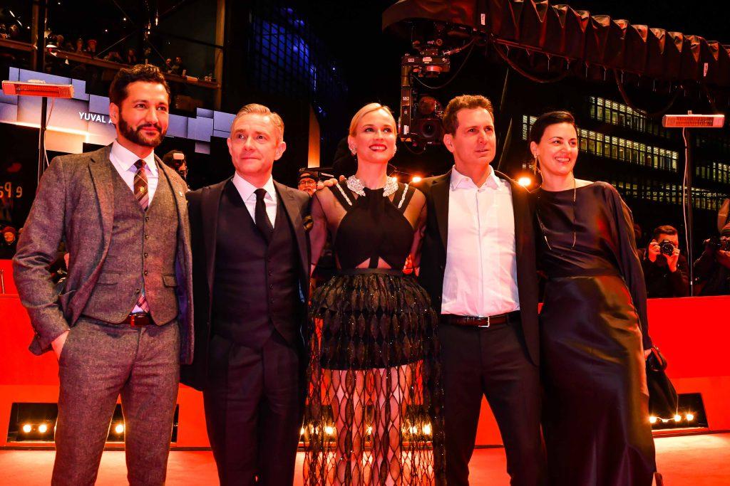 Cas Anvar, Martin Freeman, Diane Kruger, Yuval Adler, Aglika Dotcheva © Schroewig