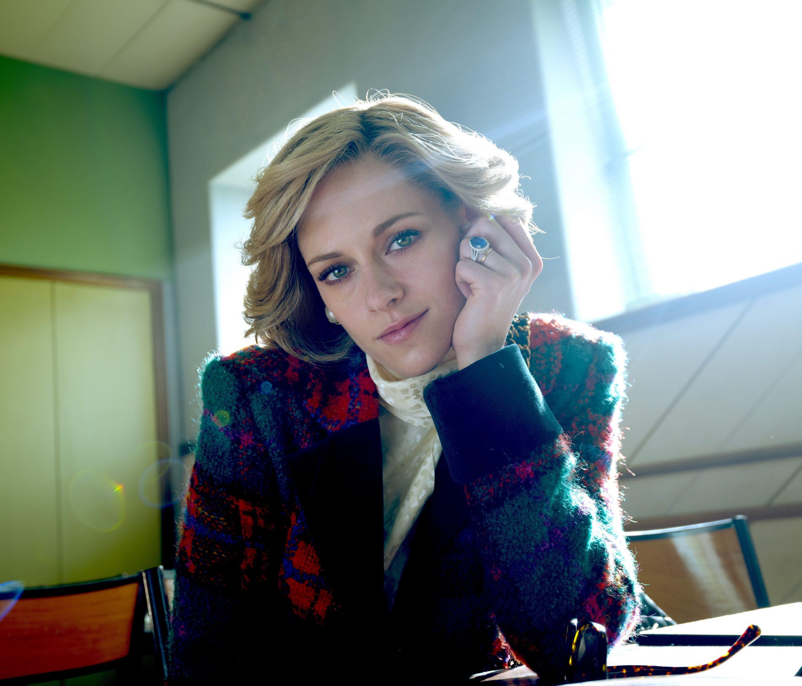 """In der filmstiftungsgeförderten Produktion """"Spencer"""" spielt Kristen Stewart Lady Di."""